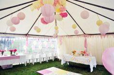 Aniversário rosa e amarelo | Casamenteiras