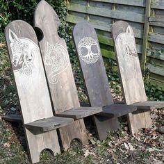 Reenactment chairs ( viking chair )