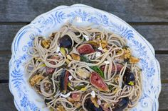 Fig and Walnut Spaghetti | 27 Delicious Ways To Eat Fresh Figs