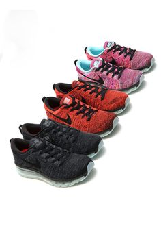Three New Nike Flyknit Air Max Colorways  Two for the boys, one for the girls.