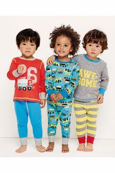 BNWT Boys Age 7 to 8 Years Soft Stretch Knit Robot Short Summer PJ Pyjamas