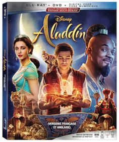 Disney's ALADDIN live-action remake starring Will Smith and Naomi Scott has been released on DVD, Blu-ray and Ultra HD. Disney Aladdin, Aladdin Movie, Disney Live, Naomi Scott, Dolby Digital, Will Smith, Guy Ritchie, Movies, Live Action