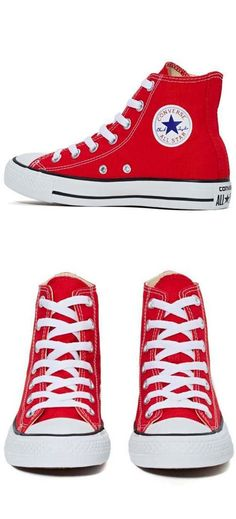 ada69639c598da Converse All Star High-Top Sneaker - Red Red Converse Outfit