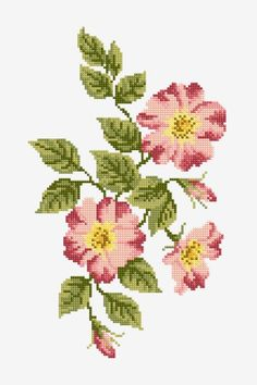 Free Cross-stitch, Crochet and Knitting Patterns — DMC Philippines Cross Stitch Designs, Cross Stitch Patterns, Cross Stitch Embroidery, Embroidery Patterns, Knitting Patterns, Mexican Flowers, Crown Pattern, Free To Use Images, Dmc