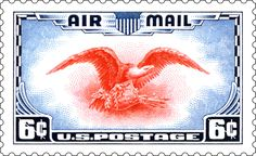 Sheesh . . . this 1938 Air Mail stamp is simply gorgeous.