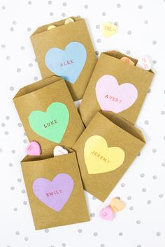 The cutest conversation heart ideas for Valentine's Day: http://www.stylemepretty.com/living/2016/02/01/22-conversation-heart-inspired-ideas-we-want-to-make-out-with/