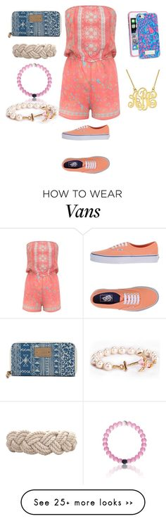 """I love this"" by natsterfl on Polyvore featuring moda, Lipsy, Vans i Lilly Pulitzer"
