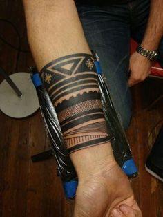 Tumblr Native American Wristband Tattoo