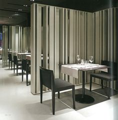 Cafe Restaurant Room Dividers Dining Table Screens Interior