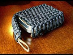 Survival Tin/Playing Card Paracord Pouch - YouTube