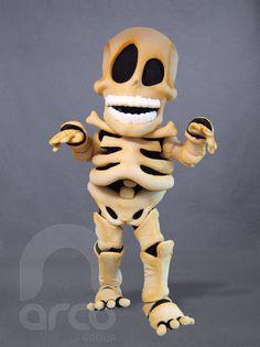 Botarga Original | Esqueleto ¡Conoce más modelos de botargas originales!: http://www.grupoarco.com.mx/venta-de-botargas/botargas-novedades/