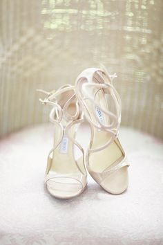 Wedding Shoes: Jimmy Choo