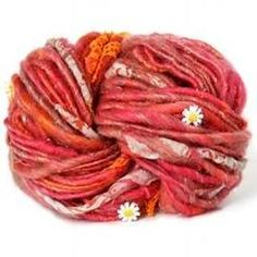 NobleKnits.com - Knit Collage Daisy Chain Yarn, $39.00 (http://www.nobleknits.com/knit-collage-daisy-chain-yarn/)