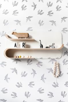 Rafa Kids - M Shelf at moonpicnic.com | modern kids furniture for nursery and kids room