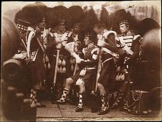 [Officer of the 92nd Gordon Highlanders Reading to the Troops, Edinburgh Castle] 1846