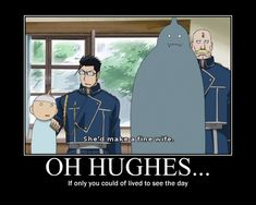FMAB Oh Hughes... If only you lived to see the day by Angel-of-Alchemy-42.deviantart.com on @deviantART