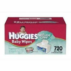 Huggies Natural Care Baby Wipes - 720ct by Huggies. $24.49. Brand New. Ask about our other great deals on baby products. We have many to choose from!
