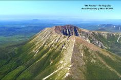 Mt. Katahdin - Knife's Edge Section in Maine (Baxter State Park) - close to the end of the Appalachian Trail, the trail is 3 feet wide with a several thousand feet drop on either side. I have to see it.