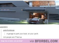 Rich People Toys…