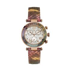 85ba26640d Gc Collection Guess Watch For Women Y05013 Multi Colored Snakeskin Pattern
