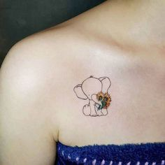 Lined elephant tattoo design with sunflowers cute elephant tattoo, small elephant tattoos, elephant tattoo Sunflower Tattoo Meaning, Sunflower Tattoo Simple, Sunflower Tattoo Shoulder, Sunflower Tattoos, Small Sunflower, Elephant Tattoo Meaning, Elephant Tattoo Design, Tattoo Elephant, Elephant Outline