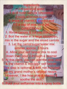 @kymdouglas ' Homemade Self Tanner http://www.hallmarkchannel.com/home-and-family/how-to/homemade-self-tanner#