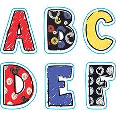 Mickey® Color Pop! Alphabet Stickers