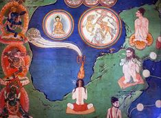 old tibetan drawings - Google Search Tibetan Buddhism, Buddhist Art, Tibet Art, Dalai Lama, Sacred Art, Tantra, Animal Quotes, Indian Art, Magick