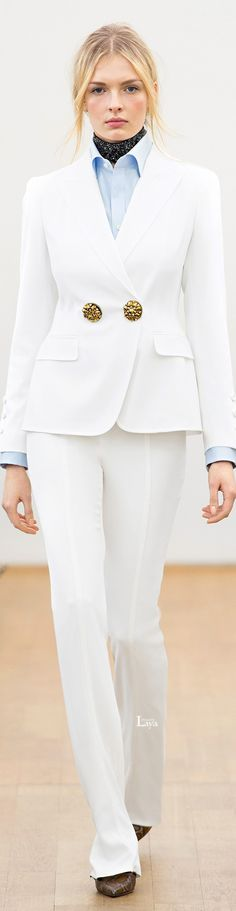 Escada Fall 2015 RTW • The LOOK BOOK by Babz • ❤️ ✿ιиѕριяαтισи❀ #abbigliamento