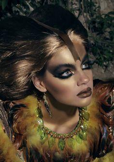 Photography- Den Kara | make-up & concept- Iuliana Sandu | hair stylist- Bacioi Sergiu | Fantasy