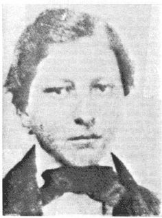 Louis David Riel (the son of Louis Riel Sr. and Julie Lagimodiere) Chipewyan/French Canadian (aka Métis) - 1858
