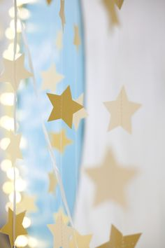 moon and stars party from a beautiful mess-  just lovely!