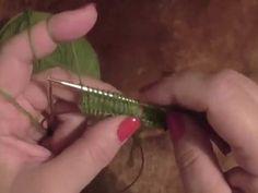 Kurz pletení ponožek na jedné kruhové jehlici od špičky (3. díl) Knitting socks