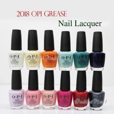 $5.9 - Opi Nail Polish Lacquer Grease Collection Summer 2018 Pick Any Color Nlg41 >G52 #ebay #Fashion