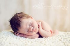 Adorable Newborn by Fresh From God Photography