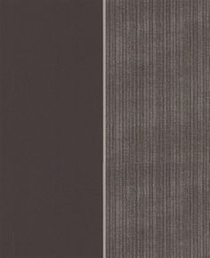 Sample of Black, Graphite and Silver Stripe Wallpaper by Graham and Brown