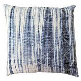 Cloud9 Design Marino Decorative Pillow, 20 by 20 inches, Ivory, Navy, Blue