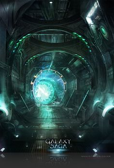 Artist: Atents - Title: 02galaxy2 - Card: Unknown Saga, Action Cards, Sci Fi Environment, Cyberpunk, Game Art, Spaceship, Amazing Art, Card Games, Concept Art