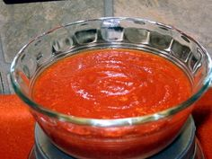 Coleen's Recipes: TACO BELL RED SAUCE CLONE RECIPE - VERY tasty! I may never buy canned enchilada sauce again! I admit it, there are certain items that I really enjoy at Taco Bell. Yes, I know it's not authentic Mexican food, but when you like somethi. Authentic Mexican Recipes, Mexican Food Recipes, Drink Recipes, Taco Bell Recipes, Mexican Dishes, Recipes Dinner, Taco Bell Red Sauce Recipe, Recipes With Enchilada Sauce, Red Salsa Recipe