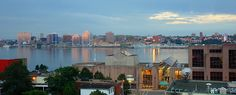 Downtown in Atlantic Canada's largest city My City Photos Atlantic Canada, O Canada, The Province, Nova Scotia, Vacation Destinations, San Francisco Skyline, City Photo, Places To Go, City Skylines
