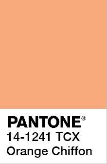 Orange chiffon Pantone Orange, Pantone Color Chart, Pantone Colours, 2018 Color, Home Decor Colors, Spring 2017 Color Trends, Spring Colors, Pantone Swatches, Color Swatches