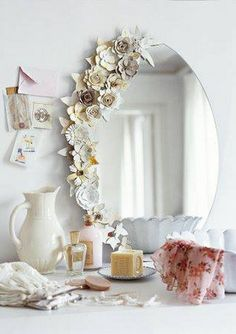 Make a new mirror look old, or give an old mirror a new look!