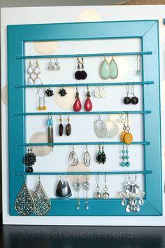 DIY Jewelry Display
