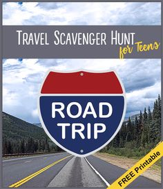 Free printable road trip scavenger hunt for teens. from meander & coast Road Trip Activities, Road Trip Snacks, Road Trip Games, Road Trips, Field Trips, Travel Crafts, Games For Teens, All I Ever Wanted, Travel With Kids
