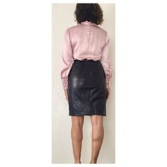787b36b9ce 29 best Vintage Leather Skirt images in 2018 | Vintage Leather, Knee ...
