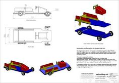 Wooden Go-Kart Plans :: How to build a wooden push cart with a Steering Wheel