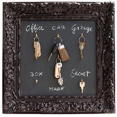 Misstinguett collections : Porte clés mural, idée cadeau 317 - Blog d'idées cadeaux