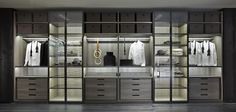 +Poliform 2014 wardrobe system+ #wardrobe #luxury