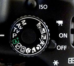 How to Use a DSLR - Shooting Modes Dial