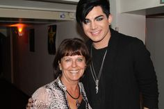 Adam Lambert & Marja (@marjadesmits). Pic taken at Glam Nation Amsterdam on November 20, 2010.